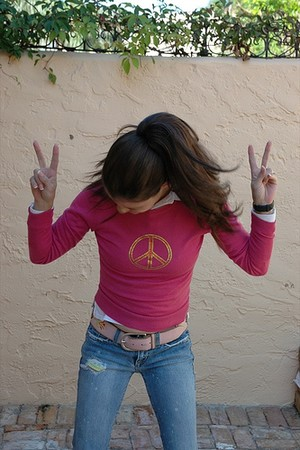 Peace-loving Teen