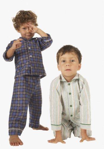 Yawning Yoga Kids in Pajamas,jpg