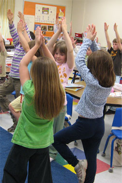 yoga in schools research findings and publications  the