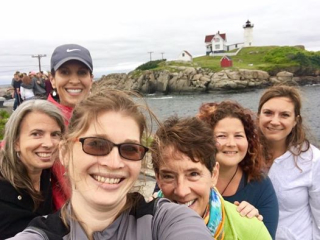 CLY in Schools Group at Nubble Light